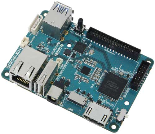 Производительный компактный миникомпьютер ODROID-XU4