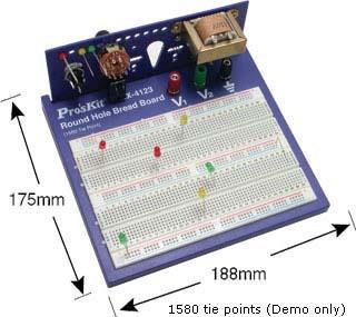 Макетная плата BX-4123.  Средства разработки электронной техники.  Дата внесения в каталог: 20/09/2011.
