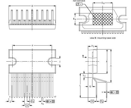 Мультимедиа преобразователь TDA1558Q/N1.112.