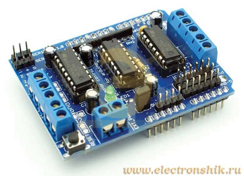 Motor Drive Shield L293D for