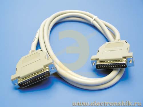 ответить на объявление. кабель LPT-LPT для подключения принтеров к компьютеру.  Принтеры, сканеры, копиры, МФУ.