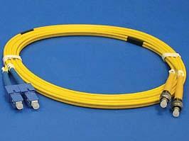 Датчики. Параметры. SC-FC патч-корд одномодовый, 3м (Duplex) (13-DHS1F08-