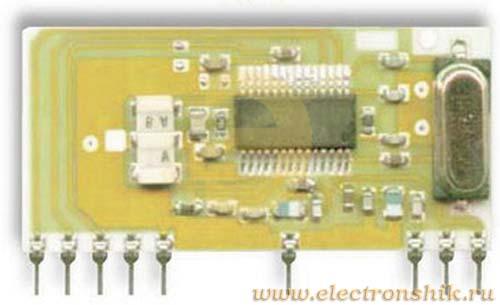 Модуль супергетеродинного АМ радиоприемника RRQ2 и RRQ3 433 МГц RRQ2-433, Telecontrolli S.P.A.
