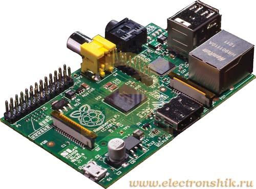 Raspberry ������������� Raspberry Pi Model B