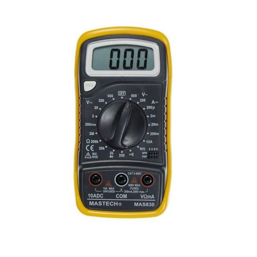 MAS830 Mastech Измерители электрических величин, цена, купить в ДКО Электронщик