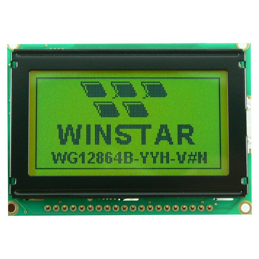 WG12864B-YGH-VN Winstar Дисплеи, цена, купить в ДКО Электронщик