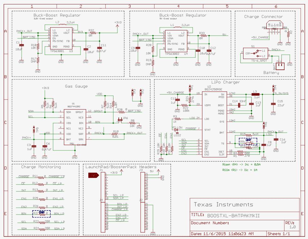 Texas Instruments BOOSTXL-BATPAKMKII