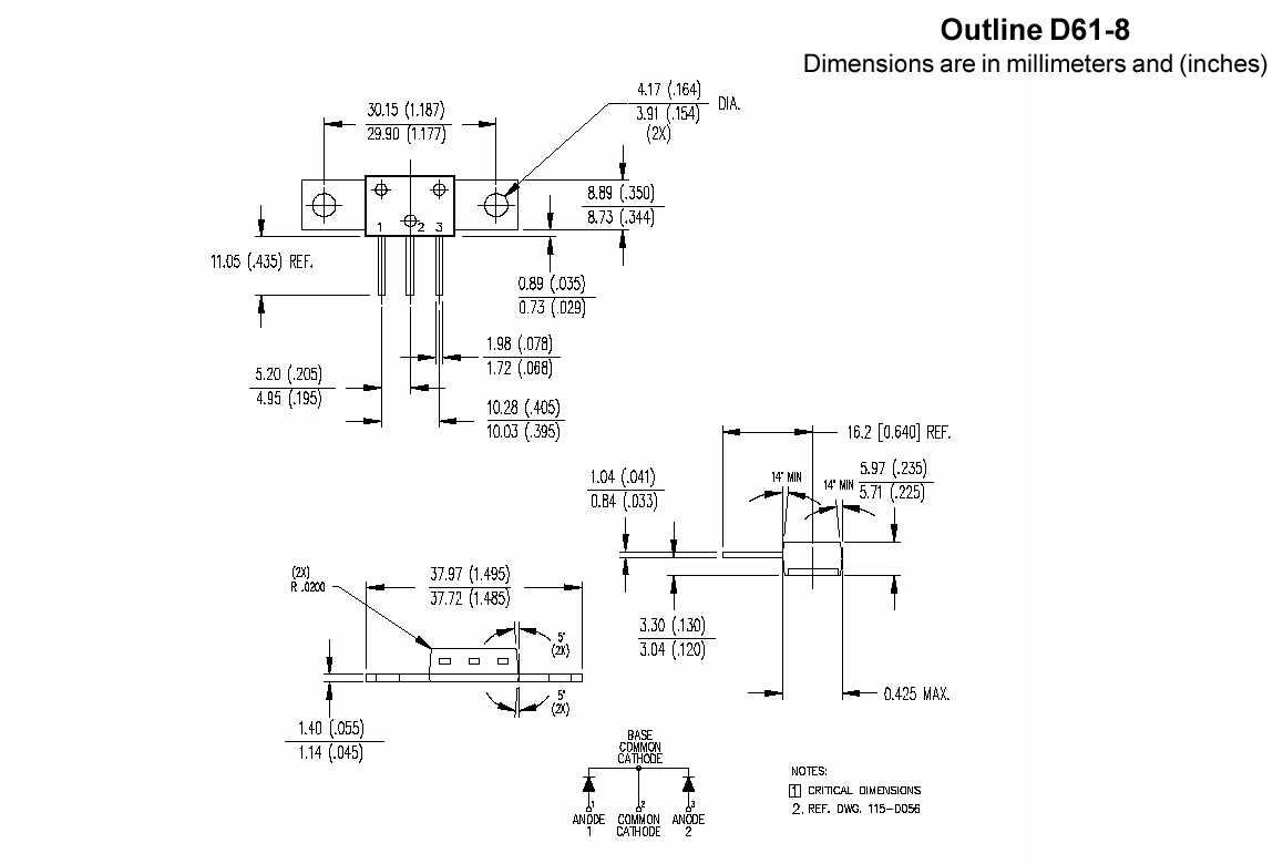 Цены на VS-80CNQ045APBF