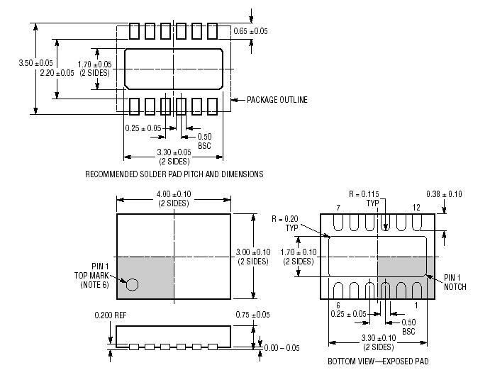 Linear Technology LTC3442EDE#PBF