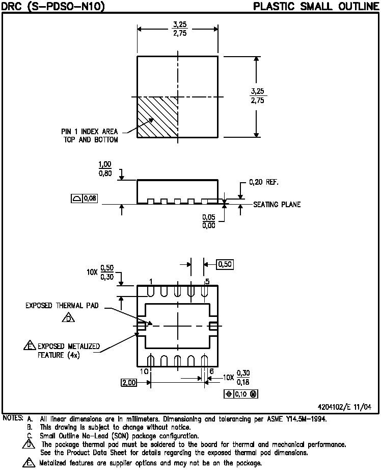 Texas Instruments TPS61050DRCT