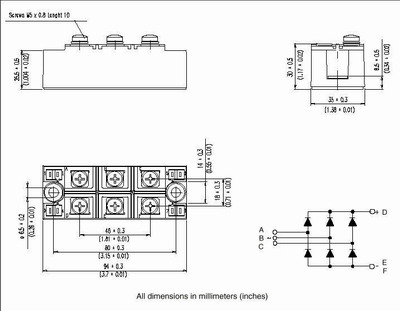 Цены на VS-VSKDU300/06PBF