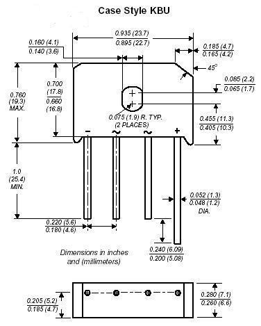 DC Components KBU6M