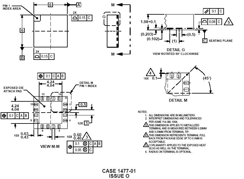 Texas Instruments TRF3701IRHC