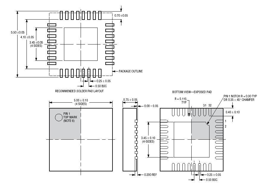 Texas Instruments TLV320AIC32IRHBT