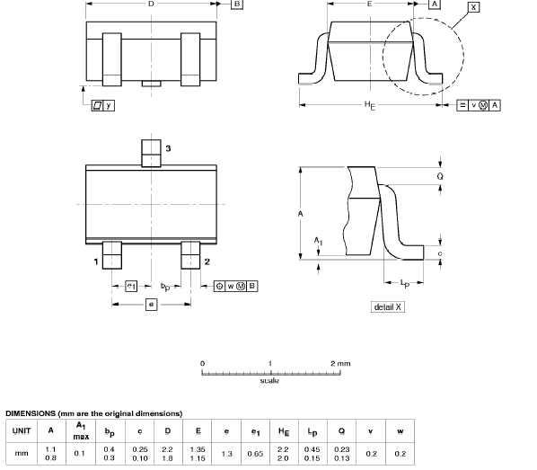 Цена HSMS-286C-TR1G