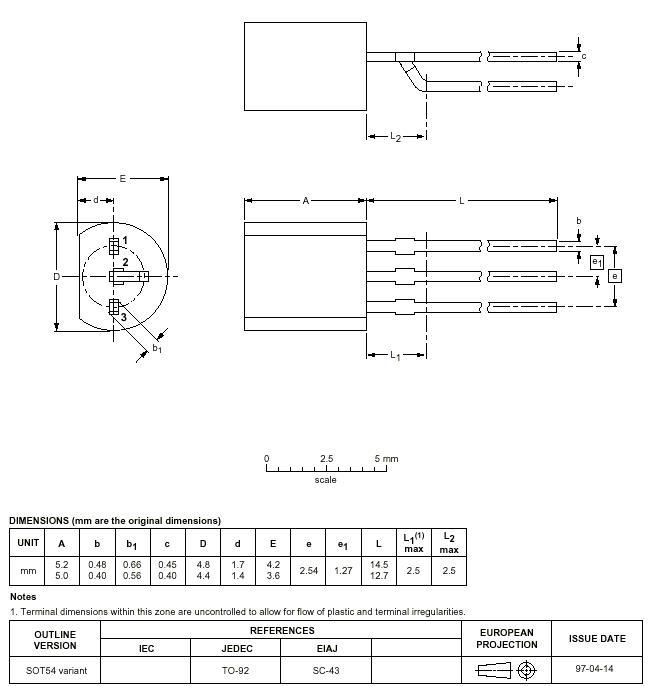 WEEN/NXP - BT169D.112