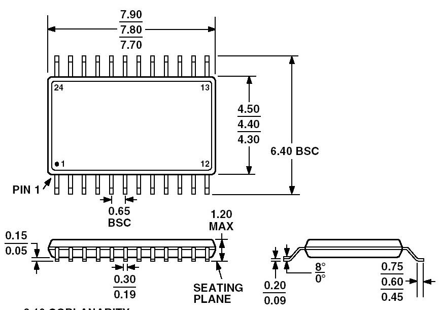 Texas Instruments CC1050PW
