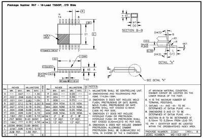 Цена MSP430F2001TPWR